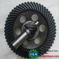 Buy cheap Forge Custom-made Different Size Spur Bevel Gear from wholesalers