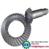 Buy cheap OEM Precision gleason gear spiral bevel gear from wholesalers