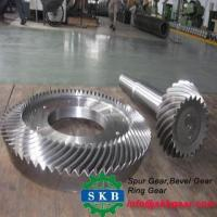 Buy cheap CNC machine hobbing 38CrM mitre spiral bevel gear spur gear conical gear from wholesalers
