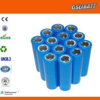 Buy cheap 18650 Lithium Cells Lithium Battery Cell and Pack from wholesalers