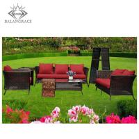 Buy cheap rattan furniture BGRF1123-wicker outdoor setting from wholesalers