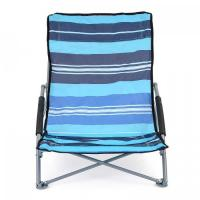 Buy cheap Low Folding Beach Chair Lightweight Portable Outdoor Camping Chairs With Bag from wholesalers