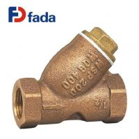Buy cheap Bronze Valves Threaded 1/2 Inch Bronze Y-Strainer from wholesalers