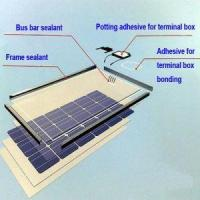 Buy cheap RTV Adhesive Sealant and RTV Silicone Rubber Used for Solar Panel Industry with UL Tested from wholesalers