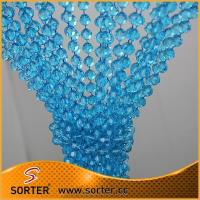Buy cheap Event Party Decoration Clear Blue Acrylic Plastic Ball Chain Garland from wholesalers