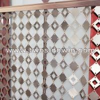 Buy cheap Metal Chain Mail Curtain Aluminum Panels Drapery from wholesalers