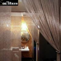 Buy cheap Aluminum Chain Link Screen Curtain Security Curtain from wholesalers