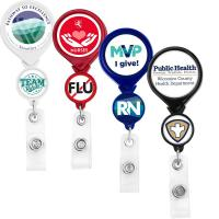 Buy cheap Badge Reels Double Up Round Badge Reel from wholesalers