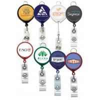 Buy cheap Badge Reels Large Face Badge Reel w/Lanyard Attachment (solid color) from wholesalers
