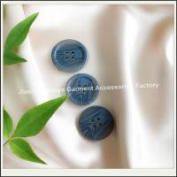 Classic 4 holes custom polyester resin button