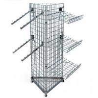 Buy cheap Triangle Base Chrome for Wire Grid Wall Display Panle from wholesalers