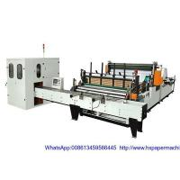 Buy cheap HX-1350B Rewinding And Punching Machine (with Colored Glue Laminator) from wholesalers