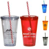 Buy cheap Mugs & Drinkware Double wall plastic tumbler from wholesalers
