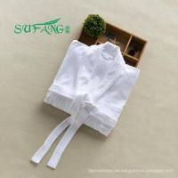 Buy cheap Hotel linen/White color 100% cotton hotel bathrobe ,terry bathrobe,towel bathrobe from wholesalers