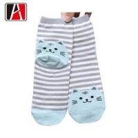 Buy cheap Brand Knitting Kid Nylon Soft Logo Sock At Lowest Price from wholesalers