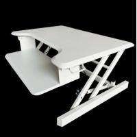 Buy cheap Portable cheap Folding desktop computers height adjustable computer table sit stand desk from wholesalers