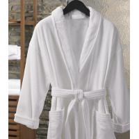 Buy cheap Hotle Bed Linen Terry Velour Shawl Robe from wholesalers