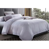 Buy cheap Hotle Bed Linen 100% Cotton 60* 40S 300TC White Color King Size Hotel Bedding Set from wholesalers