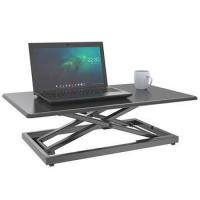 Buy cheap Height adjustable computer lifting desk ergonomic monitor workstation standing desk gas from wholesalers