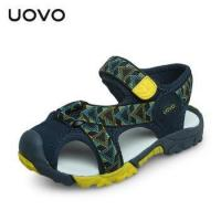 Buy cheap UOVO 2017 summer kids shoes brand closed toe toddler boys sandals ort aby boys sandals cool shoes from wholesalers