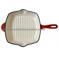 Buy cheap Cast iron grill pan Cast iron grill pan 5P28E10 from wholesalers