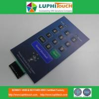 Buy cheap Door Entery Safety Lock Digital Printing Membrane Switch product