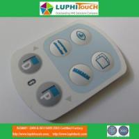 Buy cheap Medical Device Laser Etching Backligt SIlicone Rubber Keypad from wholesalers