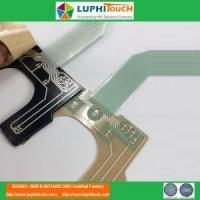 Buy cheap LGF Backlighting 0.5mm Pitch ZIF Connector Membrane Switch product