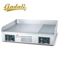 Buy cheap Stainless Steel 1/2 Flat And 1/2 Grooved Plate Electric Grill Griddle from wholesalers
