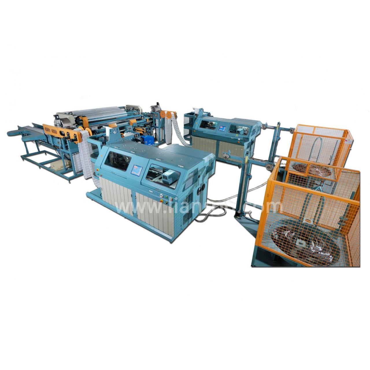 Buy cheap Fully automatic pocket spring production line from wholesalers