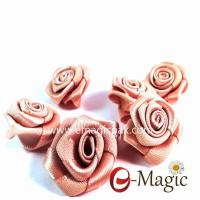 Buy cheap MRB-012 Wholesale Decorative Washable Mini Satin Ribbon Rose Bows from wholesalers