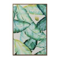 Buy cheap Artwork Green Leaf Framed Wall Art Canvas Decoration CA-F 2024&CA-F 2025 from wholesalers