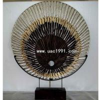 Buy cheap Artwork Modern wood carving table sculpture decoration art sculpture UA1145 from wholesalers