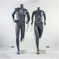 Buy cheap Fiberglass Mannequin Running Female & Male Mannequin P1 P2 from wholesalers