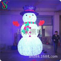 Buy cheap 3D Motif Lights led Acrylic 3D snowman lights Christmas lighting from wholesalers