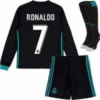 Buy cheap Real Madrid Long Sleeve Kids Soccer Jerseys from wholesalers