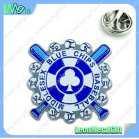 Buy cheap Fashionable lapel pin, hot selling metal badge product