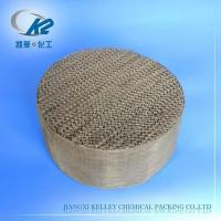 Buy cheap Metal Gauze Structured Packing from wholesalers