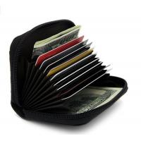Buy cheap Leather Credit Card Case Holder Security Travel Wallet from wholesalers