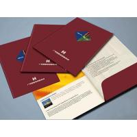 Buy cheap Office paper folder printing with pocket SWP23-13 from wholesalers