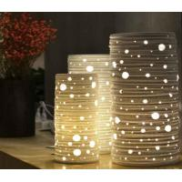 Buy cheap Elegant Vase Wooden Table Lamp for Bedroom from wholesalers