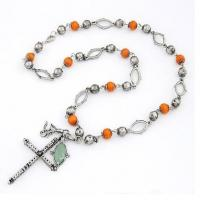 Buy cheap Necklace Bead Pendant Cross Necklace from wholesalers