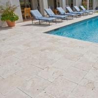 China Tile & Slab BTT008 Super White Travertine Tiles on sale