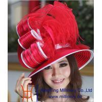 Buy cheap Organza hats Product Ladies Hats BM-0035 from wholesalers