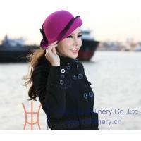 Buy cheap Organza hats Product felt hat ZM0032 from wholesalers
