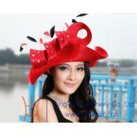 Buy cheap Organza hats Product Church hat BM-0019 from wholesalers