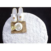 Buy cheap Washable White Waffle Disposable Spa Slippers , Disposable Hotel Bathroom / Guest House Slippers from wholesalers