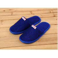 Buy cheap Comfortable Cotton Velour Disposable Hotel Slippers , Terry Cloth Flip Flop Slippers from wholesalers