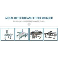 Buy cheap food metal detector Food Processing Industry Metal Detector with Chain Conveyor Belt from wholesalers