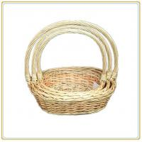 Buy cheap wood laundry basket from wholesalers